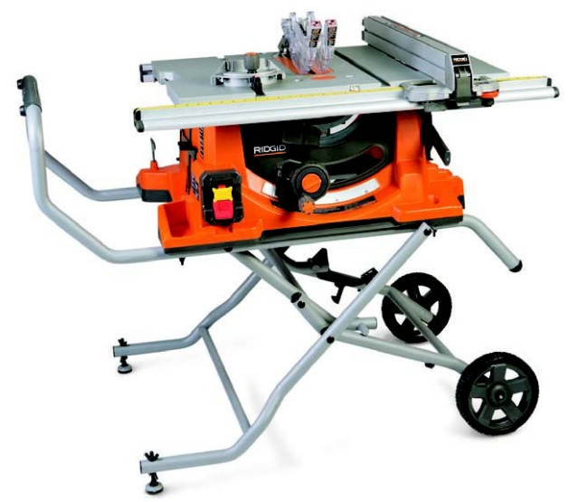 Ridgid table saw r4513