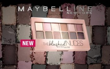 Maybelline the Nudes Eyeshadow Palette Overview & Swatches